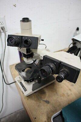 Olympus Bh2  Microscope Dual Head