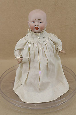 "11"" antique bisque head composition German 151 character baby doll"
