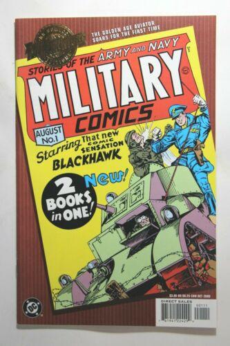 MILLENNIUM EDITION MILITARY COMICS #1 - 1ST APPEARANCE BLACKHAWK - WILL EISNER