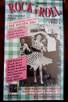 セカイモン 1950 s rock n roll vhsビデオテープ DVD ビデオ