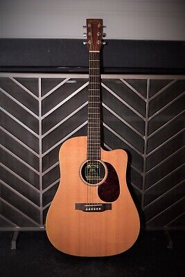 Martin acoustic electric guitar DCX1E includes Martin hardshell case