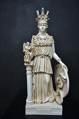 Athena Statue,Ancient Greek Goddess of Wisdom