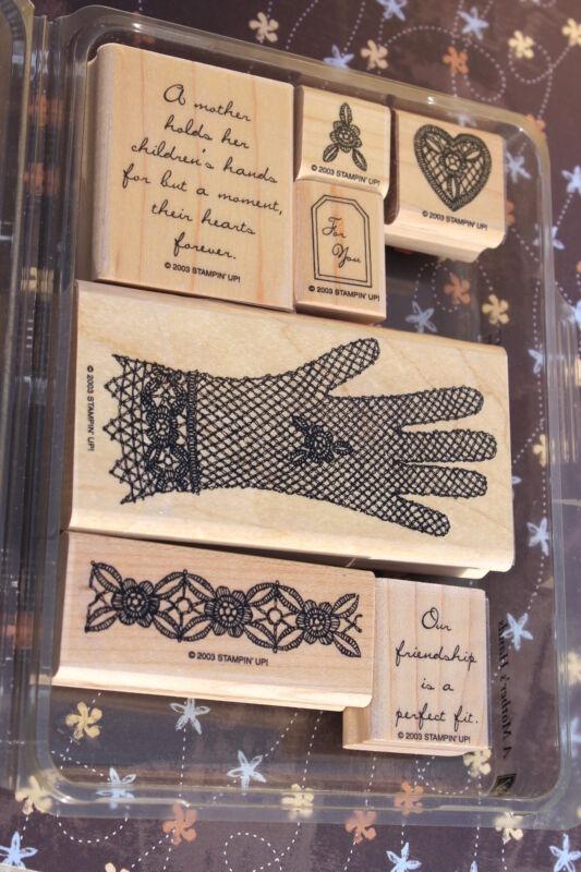 A Mother's Hands~ Stampin Up 2003, Vintage Mom