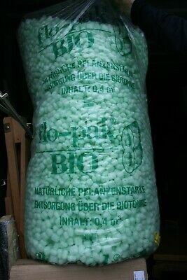 Flo Pak Bio 8 packing peanuts environmentally friendly collection from Oldham