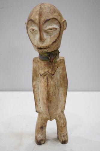 "African Lega Figurative Wood Sculpture Lega DRC 18"""