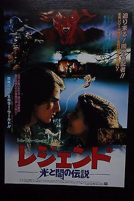 Legend Japanese Chirashi Mini Ad-Flyer Poster 1985