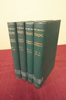 Know Your Bible - Psalms - 4 Volume Set - 1948