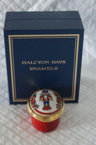 Boxed Halcyon Days Enamel Box - The Nutcracker