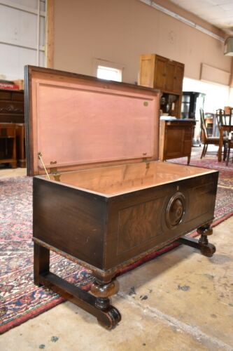 Antique Caswell Runyan Bedroom Cedar Chest