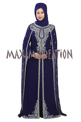 Moroccan Party Wear Islamic Arabic Maxi Cloth For Ladies By Maxim Creation 5531