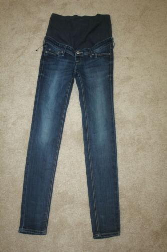 H&M stretch skinny maternity jeans 4