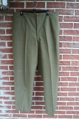 Original WW2 US Army wool Pants/Trousers - Huge Size 38x31 - XL -Extra large