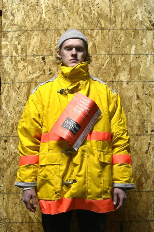 FireDex Fireman Turnout Coat Shell 7.5oz Nomex III A, Barrier Aramid Quilt NEW