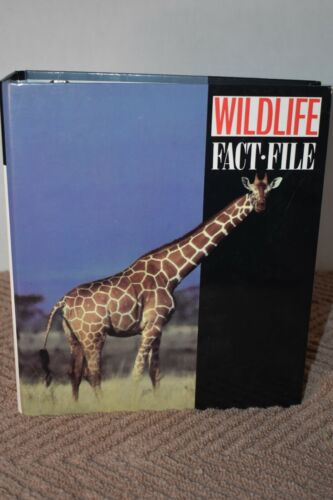 wildlife fact file Cards And Binder Book Groups 1-11 and additional cards