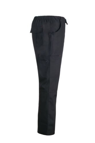 Womens Black Stretch Nursing Stylish 5 Pocket Utility Scrub Pants
