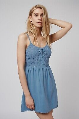 Topshop Blue Dress Size 10