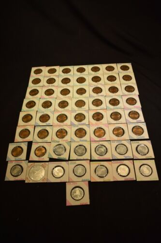 57 Vintage Shell Oil  Bronze state Tokens