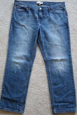 >>> Womens Jeans size 30 / 10P (10 petite) Banana Republic Boyfriend cotton