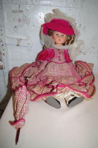 "Vintage Very Rare 1966 Italocremona  Doll 16"" ITALY Monica 649"