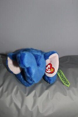 TY Retired Beanie Buddies Collection Peanut Elephant 16