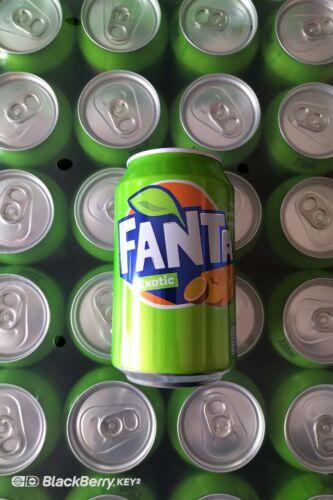 Fanta Exotic 330ml Cans DENMARK Case of 24