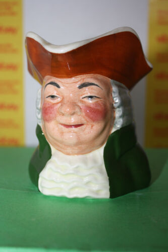 """Vintage Sylvac Staffordshire """"Squire"""" Hand Painted Made in England Toby Mug"""