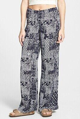 Billabong Women's Blue Keepsake Beach Pants Size M L BCH1