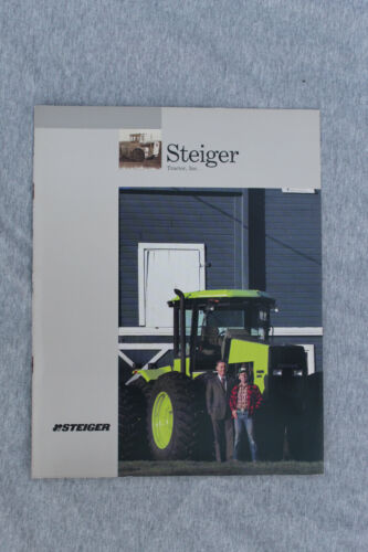 1986 Steiger Tractor company brochure #399/186/25000