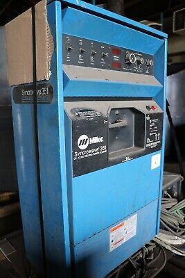 Miller Syncrow Wave 351 Tig Welder W Cooled Tip Set Up
