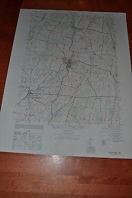 New York vintage 1940's topographic map,  Walden New York 6167 II SW
