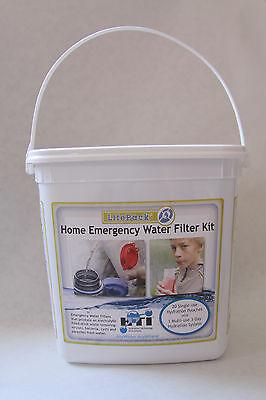 HTI Home Emergency Water Filter Kit