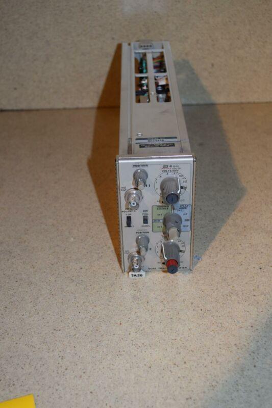 ^^ TEKTRONIX 7A26 DUAL TRACE AMPLIFIER  (TP1034)