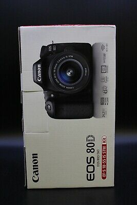 Canon EOS 80D DSLR Camera with 18-55mm Lens Kit New