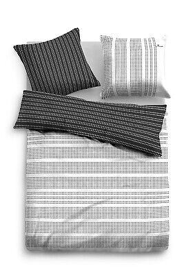 Tom Tailor Satin Bettwäsche 155 x 200 cm + 80 x 80 cm