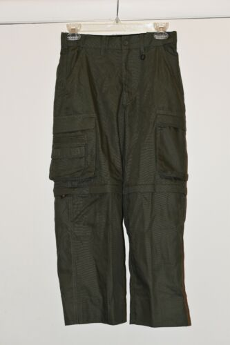 New Boy Scouts of America BSA Convertible Uniform Pants/shorts Youth 10 --