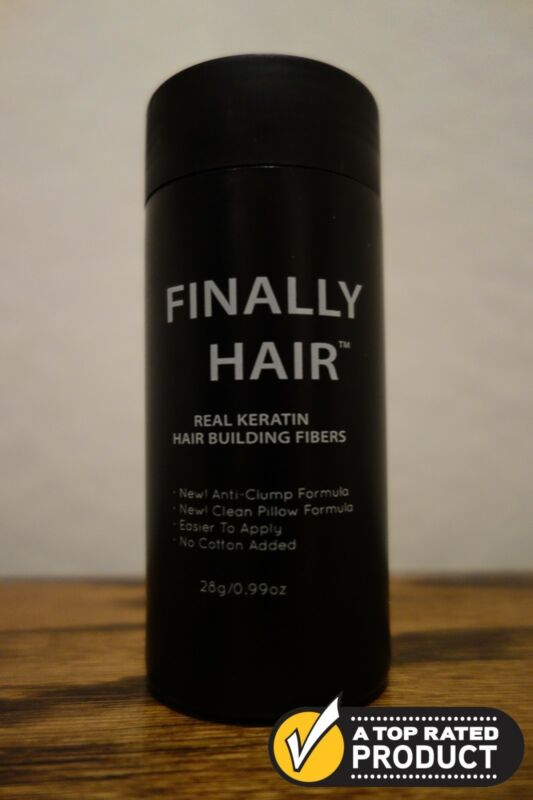 HAIR BUILDING FIBERS HAIR THICKENING FIBER HAIR LOSS 28GRAMS COVER ROOTS CONCEAL