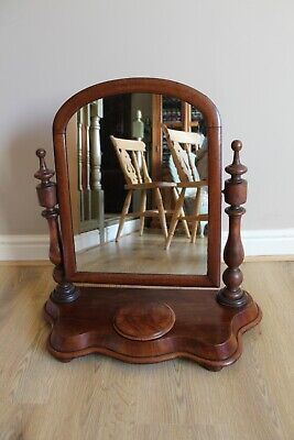 Antique Dressing Table Mirror in Mahogany - collect from Lichfield WS14