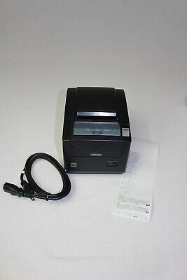 Citizen Thermal Pos Printer Ct-s601 Type Ii Top Exit Ethernet Black