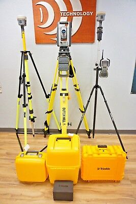 Trimble Is Solution S8 Robotic Total Station R10 Gps Gnss Rtk Set Tsc3 Tbc