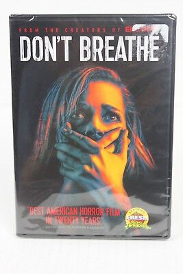 Don't Breathe DVD (2016) HORROR - NEW and STILL SEALED