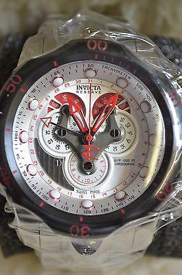Men's Invicta Reserve Venom Stainless Swiss Watch 14466 With Nice 8 Watch Case