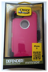 Authentic Otterbox Defender Series Case for iPhone 5 & iPhone 5s. (Brand New)