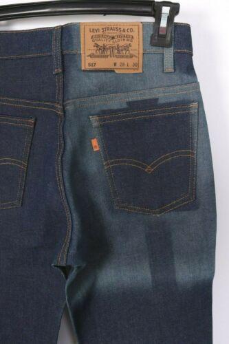 Vintage LEVIS 517 Bootcut Flare Denim Jeans USA Deadstock NWOTS Size 28x30