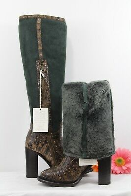NIB UGG COLLECTIONWomens AldabellaShearlingBoots Shoes Italy Sale Sz 5.5 ()