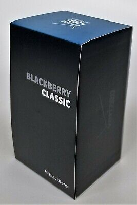 BlackBerry Classic - 16GB - Black (Verizon) Smartphone CDMA + GSM World Phone 10