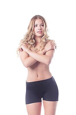 Kurze Badeshorts Damen Badeshort Sport Badehose Bikinihose Schwimmshort