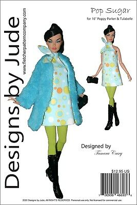 Pop Sugar Doll Clothes Sewing Pattern for 16