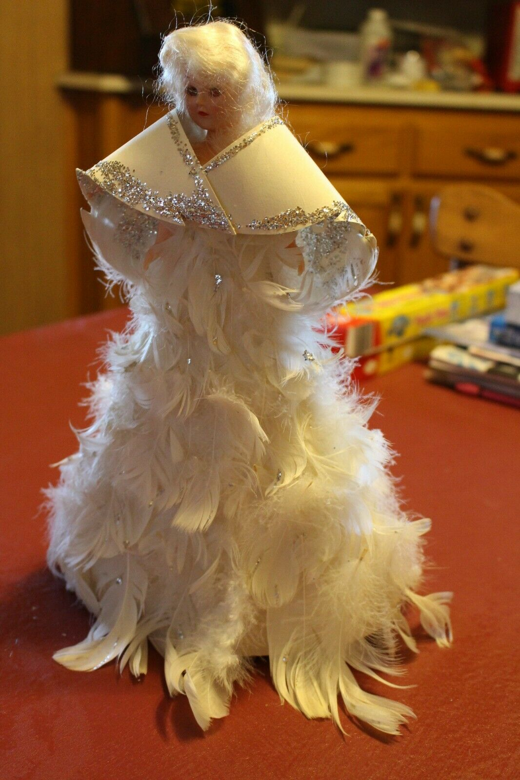 Vintage Angel Tree Topper - $5.00