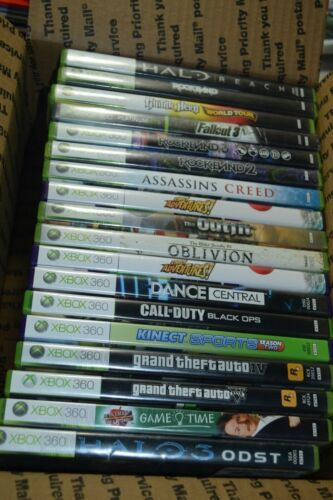 Lot of (18) Video Games for Xbox 360
