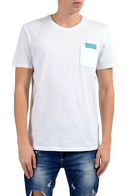Versace Collection Men's White Pocket Crewneck T-Shirt